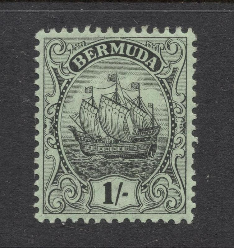 Bermuda #48 Black, Green - Unused - O.G.