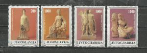 Yugoslavia #1921-1924 Mint NH