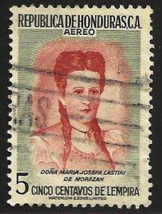 Honduras Air Mail 1956 Scott# C254 Used