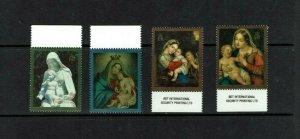 Ascension Island: 1990, Christmas, Works of Art,  MNH set