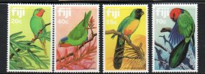 Fiji Sc 481-84 1983 Parrots stamp set mint NH
