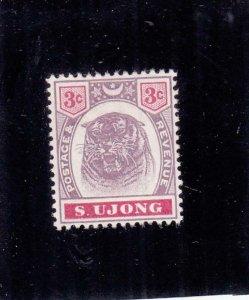 Malaya Federated States: Sungei Ujong: Sc #36, MH, No Gum (35500)