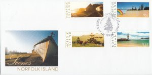 Norfolk Island 2003 FDC Sc #789-792 4 Photographs by Mary Butterfield - Islan...