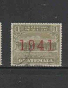 GUATEMALA #RA16 1941 POSTAL TAX F-VF USED b