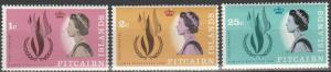 Pitcairn Is #88-90  MNH  (S9517)