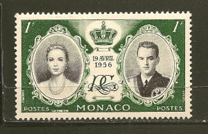Monaco 366 Grace and Rainier III MNH