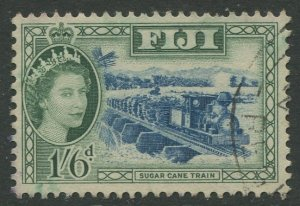 STAMP STATION PERTH Fiji #157 QEII Definitive Issue Used 1954 CV$1.20