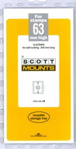 Scott Mount 63 x 240 mm  (Scott 939 Black)