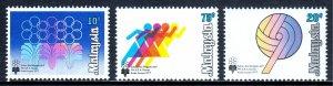 Malaysia - Scott #157-159 - MNH - SCV $1.30
