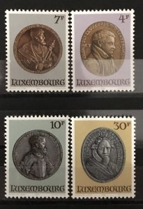 Luxembourg 1983 #721-4, MNH, CV $3