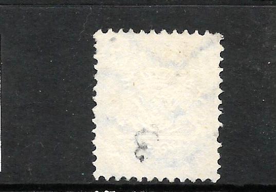 BAVARIA  1875    7k  BLUE   FU   SG 71