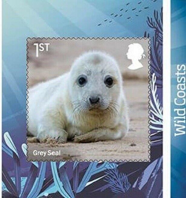 2021 GREY SEAL - WILD COASTS - SG: 4554 - S/A -  - UNMOUNTED MINT