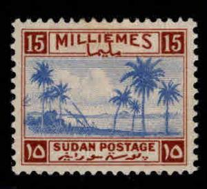 SUDAN Scott 69 MH* stamp