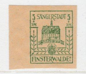 Finsterwalde WWII Germany World War II Local Stamp 1946 5+5pf MNH** A20P4F175
