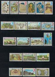 Mauritius Scott 444-463 Mint Never Hinged VF