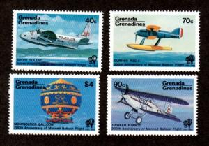 Grenada Grenadines 555-558 Mint NH MNH!