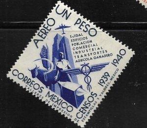 MEXICO,C102, MINT HINGED, TRANSPORTATION