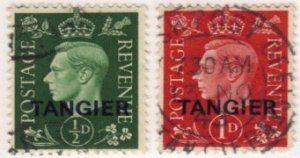 Great Britain - Morocco #515-6 used
