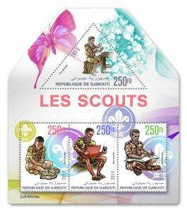 Z08 Imperf Djb16214d Djibouti 2016 Mahatma Gandhi Mnh ** Postfrisch Dschibuti Afrika