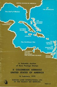 Rare Colombian Airmails & U.S.A., Robson Lowe Int., Sale 4362, Feb. 16, 1979