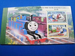 ISLE OF MAN  -  SCOTT # 661C  -  THOMAS THE TANK ENGINE BOOKLET  -  MNH