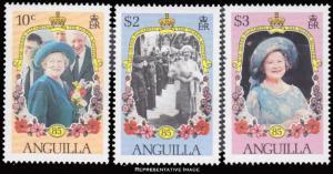 Anguilla Scott 619-621 Mint never hinged.