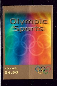Australia 1872a MNH 2000 Olympics Booklet of 10 stamps
