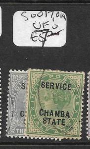 INDIA  CHAMBA  (P2809B) QV SERVICE SG O17, O19  VFU