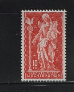 LIECHTENSTEIN 395 MNH, 1965 Madonna, Wood Sculpture, 18th Century