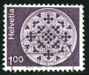 SWITZERLAND #569 , USED - 1974 - SWIT012