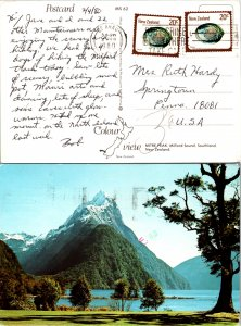 New Zealand, Picture Postcards, Seashells