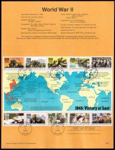 US #SP1155 (2981) World War II (5Stars)
