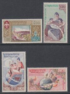 Laos 48-51 MNH VF
