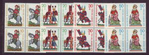 J24329 JLstamps 1970 germany set blk,s 4 mnh #b455-8 minnesingers