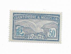 Saint Pierre & Miquelon #98 MH - Stamp - CAT VALUE $1.75