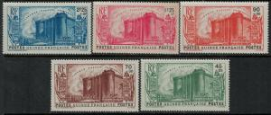French Guinea 1939 SC B3-B7 MNH SCV $80.00 Set
