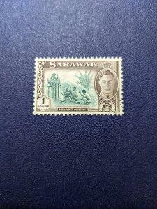Sarawak 192 VF, CV $4.25