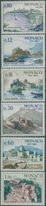 Monaco 1966 SG833-838 Monaco Palace set MNH