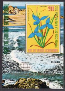 Equatorial Guinea 76169 Flowers Souvenir Sheet MNH VF