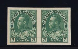 Canada Scott # 137 Pair VF-XF OG never hinged cv $ 160 ! see pic !