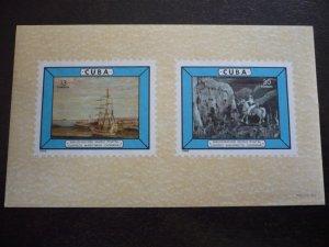 Stamps - Cuba - Scott# 935 - Souvenir Sheet