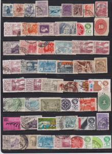 LOT OF DIFFERENT STAMPS OF MEXICO USED (51) LOT#114