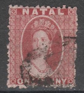 NATAL 1863 QV CHALON 1D WMK CROWN CC PERF 12.5