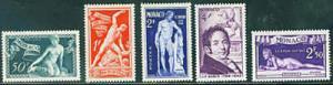 MONACO Scott 209-13 Bosio set CV$8.70 MH* 1948