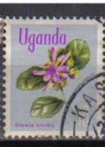 UGANDA, 1969, used  10c. ?Grewia similis?.  Flowers.