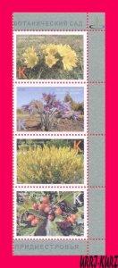 TRANSNISTRIA 2021 Nature Flora Plants Flowers Berries Botanical Garden 4v MNH