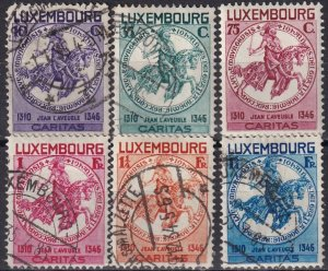 Luxembourg #B60-65   F-VF Used CV $161.60 (Z8198)