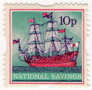 (I.B) Cinderella Collection : National Savings - Galleon 10p