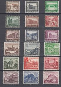 WWII Third Reich 2 Full Sets Winter Relief Funds 1936/39 MLH Luxe