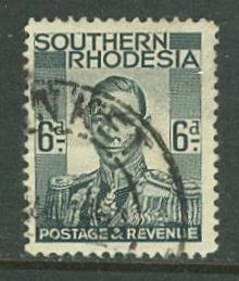 So. Rhodesia # 46  6d. George VI  (1)  VF  USED